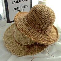Cappello delle donne della ragazza Parasole con la fascia di Giappone e Corea del Sud retrà Cappello Saluto laterale Pescatore per il cappello Lady Leisure Travel Outdoor VT0132