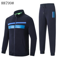Herren Man Jacke Hosen Jogging Jogger Sets Turtleneck-Sport-Trainingsnazug Sweat Suits