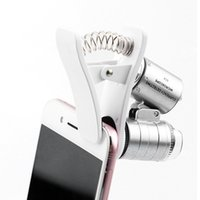 60x Handheld Mini Pocket Microscope with phone clips Loupe J...