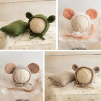 Newborn Photography Props Baby Photo Hats Pillows Infant Pho...