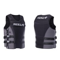 fashion- Professional Life Jacket Vest Adult Buoyancy Lifejac...
