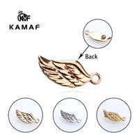 Andere 10 stücke Mode Sweet Angel Wing Armband Halskette Stecker Schmuck Zubehör Plattieren Großhandel 18mm * 7mm