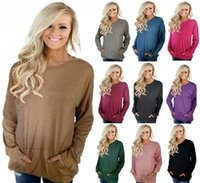 Plus Size Womens Hoodies Long Sleeve O Neck Loose Ladies Swe...