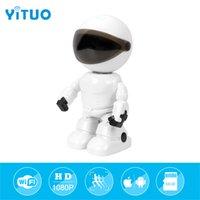 HD 1080 P WiFi Robot Caméra IP Pan Tilt Security Caméra sans fil Soutien P2P Vision nocturne Détection de mouvement Audio bidirectionnel Moniteur pour bébé