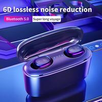 박스 충전과의 G5 TWS 무선 이어폰 블루투스 5.0 사운드 6D 스테레오 이어폰 미니 스포츠 헤드셋 이어폰 핸즈프리