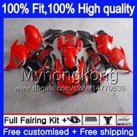 Iniezione per Kawasaki ZX 14R ZZR1400 2006 2007 2008 2009 2010 2011 rosso nero 223MY.27 ZZR1400 ZX14R ZX14R 06 07 08 09 10 11 carenature