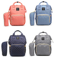 Wholesale Baby Diaper Bag Large Capacity Nappy Bag Waterproo...
