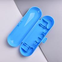 Porte-brosse à dents Accessoires de salle de bain Voyage Boîtes de rangement de voyage Porte-brosse à dents électrique Vente chaude