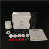 Peak Coil Repair Kit riparazione picco con 5pcs 1.3mm spessore del riscaldamento dell'elemento della bobina di riscaldamento con gli occhielli e l'atomizzatore Jig di ALIGMENT