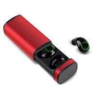 TWS Wireless Headset Bluetooth X23 Touch 5.0 IPX5 étanche à commande vocale, mini avec boîtier de chargement