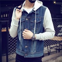 Casual Slim Men' s Denim Jacket Pilot Jacket Men' s ...