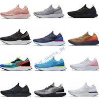 2019 Moda Reagir Running Shoes para as Mulheres Homens Bélgica fulgor azul Mowabb todas as mulheres brancas pretas Sports homens respiráveis sapatilhas