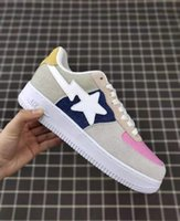 (With Box)Fast Shipping 2019 Footsoldier BAPESTA Shoes Top Q...
