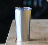16OZ نصف لتر شقة البهلوان السفر القدح هدية فراغ معزول القهوة البيرة كأس الفولاذ المقاوم للصدأ البهلوان مع غطاء في A10 الأسهم
