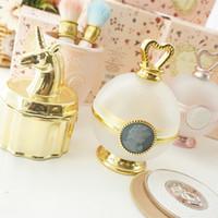 Holder LADUREE Les Merveilleuses Flowder Blush Coppa Box trucco della polvere Strumenti organizzatore cosmetico bagagli benna per la principessa GGA3485-3
