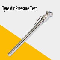 ضغط الهواء في الإطارات اختبار متر الفضة 5-50 psi دائم قياس الضغط القلم شكل الطوارئ استخدام المحمولة سيارة التصميم HHA68