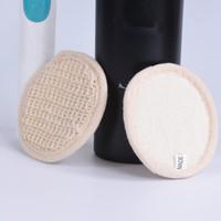 مزيل مكياج وسادات قابلة لإعادة الاستخدام وسادات القطن المكياج الوجه مزيل الجلد الألياف الوجه العناية سادات التمريض الجلد تنظيف F3769