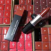 化粧品Mマット光沢Rouge A levre Lipstick 3Gアルミチューブリップグロスリップグロスマキリッジキット