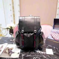 de hombres mujeres mochilas de diseño gran capacidad bolsas de viaje de la moda mochilas de estilo clásico de cuero genuino qualty superior