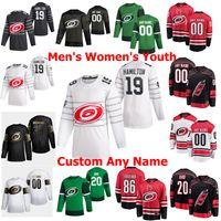 2020 All-Star Juego Carolina Hurricanes hockey jerseys 76 Brady Skjei 45 Sami Vatanen 16 Vincent Trocheck Staal Jaccob Slavin personalizada cosido
