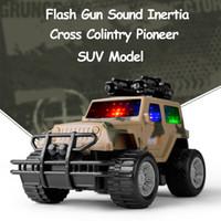 3 Farben Military Camouflage SUV Jeep Modell Spielzeugautos für Jungen Inertial LED Blinkende Lichter Sounds Muical Fahrzeug Auto Spielzeug für Kinder