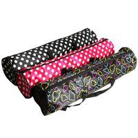 Tapis de yoga sac à dos épais Messenger sac grande capacité de stockage femelle sac à dos sac de yoga tapis de plein air portable