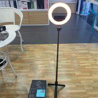 5 pulgadas modelo nuevo anillo de luz de relleno anillo de luz LED para el maquillaje Fotografía Transmisión en vivo del trípode portátil inalámbrico selfie Palo