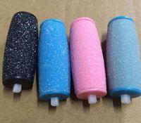 Elektrische Feet Kallus Polituren austauschbare Köpfe Fußfeile harte Haut-Remover Pedicure Werkzeuge für rissige Fersen und abgestorbene Haut KKA7807