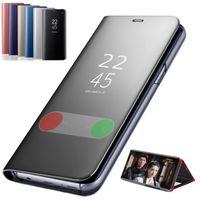 Чехол смарт-зеркало телефона для Samsung Галактики С20 С20 плюс ультра 5г 5г Оригинал ясный вид кожаный чехол для Samsung Галактики С20