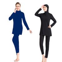 2019 yeni spor Kadınlar Müslüman mayo Dış Ticaret Bayanlar Mayo Mayo, yüzme kadınlar için esnek şık Plaj wim giymek