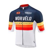 2020 Morvelo Team Cycling Jersey Men Verano Manga corta Carretera Camisa de bicicleta de alta calidad Ropa de bicicleta al aire libre Trajes de ciclismo 120534
