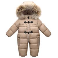 Orangemom официального магазина зимней куртка для девочки пальто верхней одежды, 90% утка вниз младенческий ребенка детского зимнего комбинезона, теплый износ младенец снега