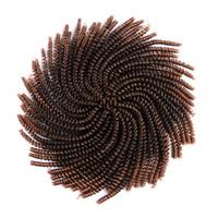 30Roots / PC 곱슬 머리카락의 머리카락 확장기 봄 트위스트 머리카락 꼬임의 트위스트 編 み 込み 합성 머리카락 용 8 인치