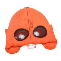 Lunettes de laine tricotée Bonnet Sport Cap thermoludique chaud Automne Hiver Chapeau de chaleur Keeper Oreille neige froide Protecteur N13