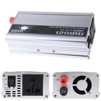 DOXIN 휴대용 자동차 파워 인버터 DC 24V 12V AC 220V 110V 1200W 모바일 자동차 자동차 파워 컨버터 변압기 충전기 무료 배송