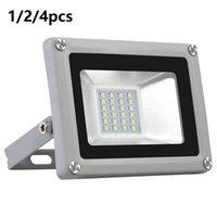 20W Projetores de LED Flood luz fria Branco Outdoor Holofotes Quintal Spot lâmpada impermeável Iluminações 110V