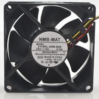 Original Für NMB lüfter 3110KL-05W-B59 8025 8 cm 80 * 80 * 25mm 24 V 0,15A 3-zeiligen server wechselrichter lüfter