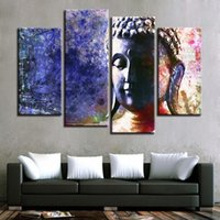 Canvas Painting For Living Room Home Decor Wall Art 4 Pieces...