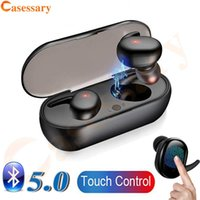 Bluetooth 5. 0 Touch Control TWS Earphones Earbuds With Charg...