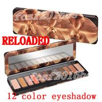 Sıcak marka göz farı paleti RELOADED 12 renk Göz farı NUDE Göz gölge makyaj Güzellik Paleti Mat Işıltılı kozmetik DHL