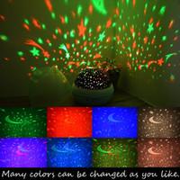 USB 프로젝터 빛 회전 스타 프로젝션 램프 낭만적 인 밤 빛 아기 유치원 침실 장식 1 개 장미