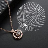 100 I love you Necklace 100 language projection I love You N...