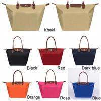 7 Cores de Grande Capacidade portátil ombro Oxford Dumpling Bolsa de compras Bolsas Top-handle Doce Cor Hobos Storage Bag DH0547-2 T03