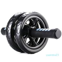 Wholesale-Abdominal Ab Wheel Roller with Mat No Noise Muscle Double-wheeled Abdominal Roller Workouts Fitness Exercise Equipment