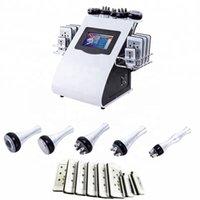 Freeshipping 40K Lipoaspiração Gordura Ultrasonic Cavitação Vácuo RF Modelo de Empresa de Peso Lipo Laser Body Slimming Beauty Machine