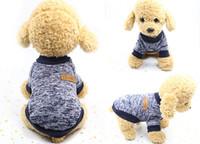 Pet Hundemode Pullover Pet Supplies Katze Kleidung Hund Kleidung Hund Bekleidung New Pullover Haustier Kleidung
