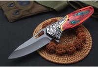 4 estilos Nuevo cuchillo plegable DA157 DA160 DA159 DA162 cuchillo de camping 440 cuchillas EDC herramientas precio al por mayor envío gratis