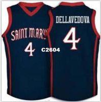New Arrival. Men  4 matthew dellavedova Saint Marys College Jersey Blue  Custom Any Size 0ff0dcd81