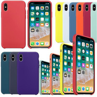 Original Official Have LOGO Liquid Silicone Case For Apple i...