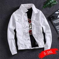Primavera E Versione autunno degli uomini di Trend Giacca di jeans maschio bello Tooling rivestimento degli uomini di marea di marca